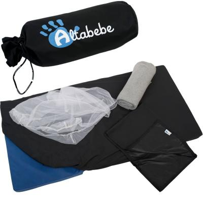 Набор для путешествий и аксессуары Altabebe AL5005 (москитная сетка/одеяло флис/сумка/простыня/чехол) mercury постельные принадлежности набор 4 штуки простыня с набивной чехол на одеяло 100