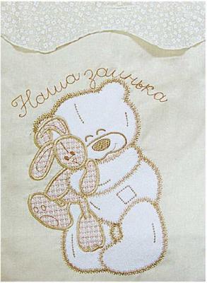Комплект постельного белья Золотой Гусь Сабина (бежевый) комплект в кроватку золотой гусь мишка царь бежевый