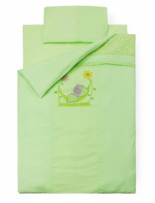 Комплект постельного белья Золотой Гусь Сладкий сон (зеленый) комплект в кроватку золотой гусь сладкий сон 7 предметов зеленый 1094