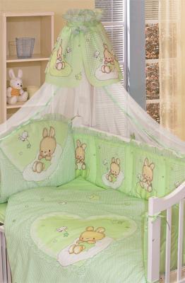 Постельный сет 7 предметов Золотой Гусь Степашка (зеленый) постельный сет 7 предметов золотой гусь сладкий сон зеленый