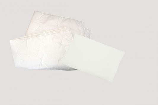 Купить Одеяло+подушка 40х60см Bombus, белый, 40 х 60 см, хлопок, Одеяла и пледы