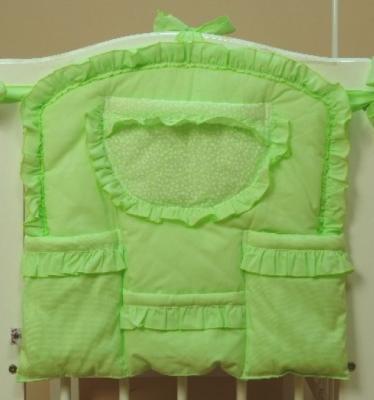 Карман на кроватку Bombus Светик (зеленый) комплект в кроватку bombus давай поиграем 7пр розовый