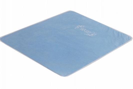 Купить Плед Bombus Изабэль (голубой), 90 х 110 см, велюр, Одеяла и пледы