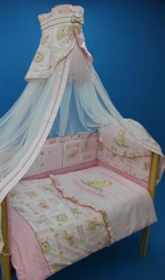 Постельное белье Bombus Тэди Бир (розовый)