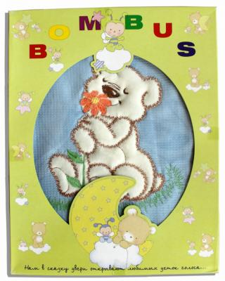 Сменное постельное белье Bombus Тэди Бир (голубой) карман на кроватку bombus светик розовый
