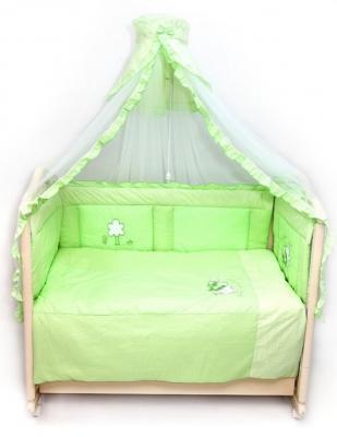 Бампер на кроватку Bombus Светик (зеленый) комплект в кроватку bombus давай поиграем 7пр розовый
