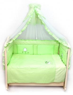 Бампер на кроватку Bombus Светик (зеленый) карман на кроватку bombus светик желтый