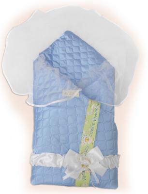 Одеяло на выписку Bombus Мила (голубой) карман на кроватку bombus светик розовый