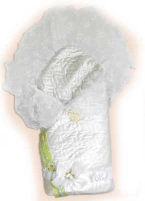 Одеяло на выписку Bombus Мила (белый)