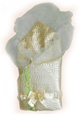 Одеяло на выписку Bombus Мила (бежевый) карман на кроватку bombus светик розовый