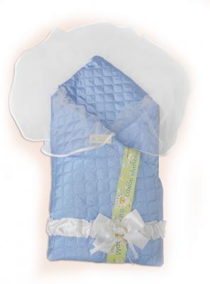 Одеяло на выписку Bombus Мила (зима/голубой) карман на кроватку bombus светик розовый