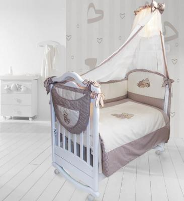 Карман на кроватку Labeillebaby Мими (каппучино) карман на кроватку bombus светик розовый