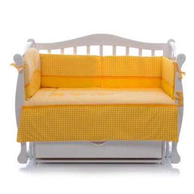 Постельный сет 6 предметов Nino Morada (yellow) комплекты в кроватку nino el amor 6bb предметов