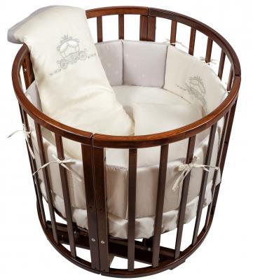 Постельный сет 6 предметов в люльку Nuovita Prestigio (grigio) комплекты в кроватку nuovita prestigio atlante 6 предметов