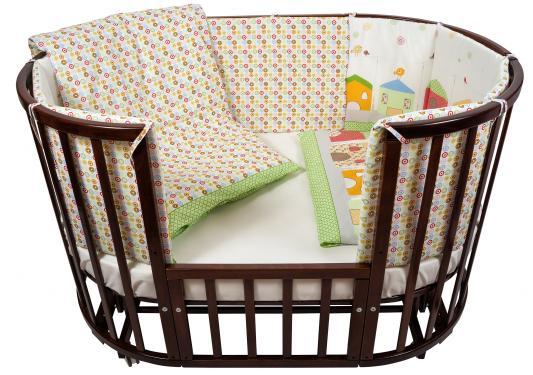 Постельный сет 6 предметов в кроватку Nuovita Case (verde) комплекты в кроватку esspero ribbon royal 6 предметов