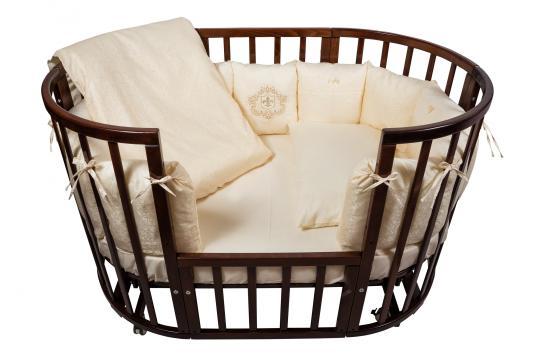 Постельный сет 6 предметов Nuovita Corona (бежевый) постельный сет 6 предметов ups pups игрушки бежевый