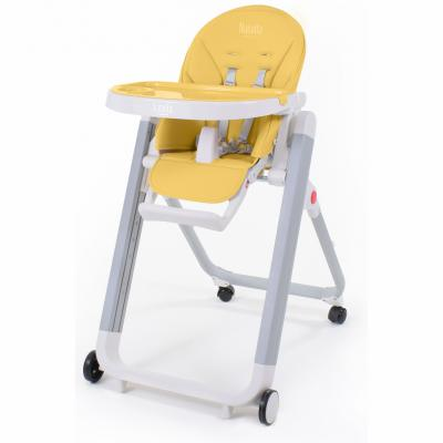 Купить Стульчик для кормления Nuovita Futuro Senso Bianco (giallo), жёлтый, металл + пластик, Стульчики для кормления