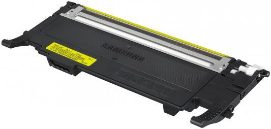 Картридж Samsung SU476A CLT-Y407S для CLP-320 325 320N желтый картридж clt y407s see