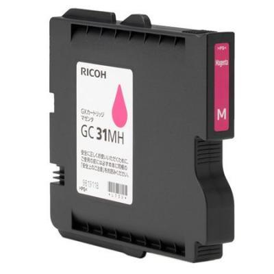 Картридж Ricoh GC 31MH для Ricoh Aficio GX e2600/e3300N/e3350N/e5550N пурпурный 405703 цены