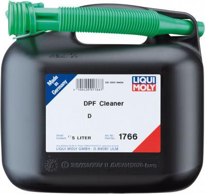 Очиститель сажевого фильтра LiquiMoly DPF Cleaner 1766 очиститель дизельного сажевого фильтра liqui moly pro line diesel partikelfilter reiniger для грузовых автомобилей 1 л