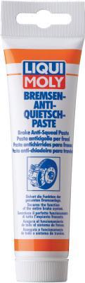 Синтетическая смазка для тормозной системы LiquiMoly Bremsen-Anti-Quietsch-Paste 3077 средство для антикоррозионной и защитной обработки liqui moly 7585 bremsen anti quietsch paste 0 01л
