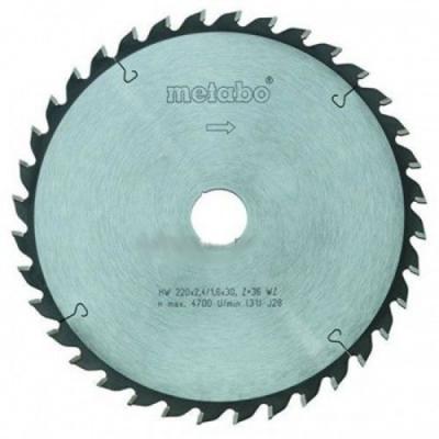 Пильный диск Metabo190x2.2х30мм HM FZ/TZ=56 ALU ДСП 628077000 пильный диск metabo305x30 hm 56wz5отр д торцовок 628064000
