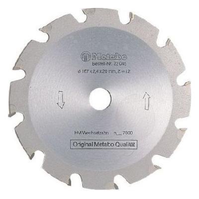 Пильный диск Metabo190x2.2х30мм HM WZ=14 грубый пропил 628005000 диск пильный мастер 60 230x30 мм z44 wz multi профоснастка 60101060