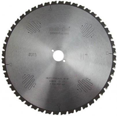 Пильный диск Metabo315x2.4х30мм 48WZ 5neg 628224000