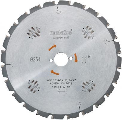 Пильный диск Metabo400x3.5/2.5x30 HM Z=60 WZ BKS400 628019000 пильный диск metabo305x30 hm 56wz5отр д торцовок 628064000