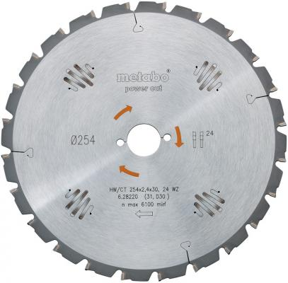 Пильный диск Metabo400x3.5/2.5x30NL HM Z=28 FZ/FA BKS400 628018000 пильный диск metabo305x30 hm 56wz5отр д торцовок 628064000
