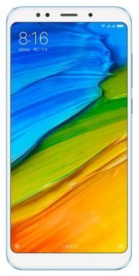 Смартфон Xiaomi Redmi 5 Plus голубой 5.99 32 Гб LTE Wi-Fi GPS 3G смартфон asus zenfone live zb501kl золотистый 5 32 гб lte wi fi gps 3g 90ak0072 m00140