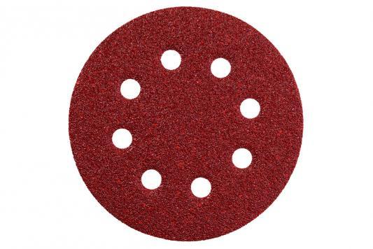 Круг шлифовальный Metabo 125мм Р180 25шт 631588000 шлифовальный круг metabo250х40х51 60n 630637000