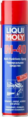 Универсальное средство LiquiMoly LM 40 Multi-Funktions-Spray 8049 универсальное средство lm 40 multi funktions spray liqui moly