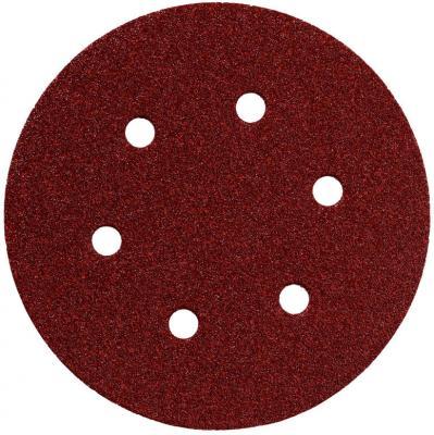 Круг шлифовальный Metabo 150мм Р120 6 отв 25шт 624023000 шлифовальный круг metabo250х40х51 60n 630637000