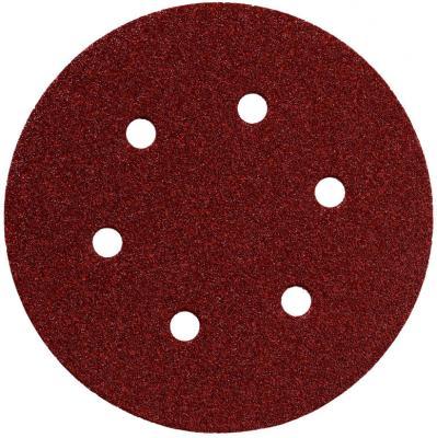Круг шлифовальный Metabo 150мм Р80 6 отв 25шт 624021000 шлифовальный круг metabo250х40х51 60n 630637000