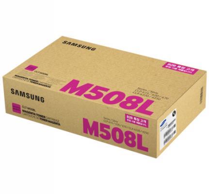 Картридж Samsung SU325A CLT-M508L для Samsung CLP-620/670/CLX-6220 пурпурный 4000стр картридж samsung clp 620 670 clx 6220 6250 clt y508l see