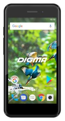 Смартфон Digma LINX A453 3G 8 Гб черный (LT4038PG) смартфон digma vox s501 3g 8 гб красный vs5002pg