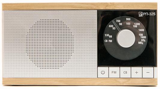 Радиоприемник Сигнал БЗРП РП-325 коричневый/серебристый