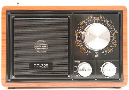 Радиоприемник Сигнал БЗРП РП-329 коричневый/черный