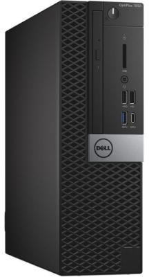 Системный блок DELL Optiplex 7050 Intel Core i7 6700 16 Гб 1Tb + 256 SSD Radeon R7 450 4096 Мб Linux 7050-4853 компьютер dell optiplex 7050 intel core i7 6700 ddr4 8гб 1000гб amd radeon r7 450 4096 мб dvd rw linux черный и серебристый [7050 4839]