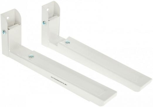 Кронштейн для СВЧ-печей Ultramounts UM 888W белый макс.30кг настенный фиксированный кронштейн ultramounts um 888s для свч 30кг серебристый
