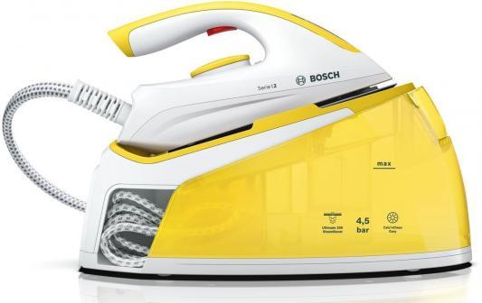 Парогенератор Bosch TDS2120 2400Вт белый жёлтый ручной пылесос handstick bosch athlet bch6ath18 2400вт черный