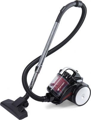 лучшая цена Пылесос KITFORT KT-522-1 сухая уборка красный чёрный