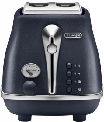Тостер DeLonghi CTOE 2103. синий тостер delonghi ctoe 2103 красный