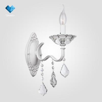 Бра Eurosvet Эммануэль 10049/1 белый с серебром/прозрачный хрусталь Strotskis набор инструментов квалитет нир 108