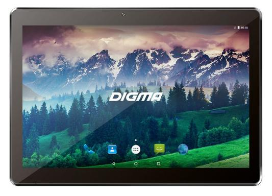 Планшет Digma Plane 1537E 3G 10.1 8Gb Black Wi-Fi 3G Bluetooth Android PS1149MG планшет планшет lenovo tab 4 tb 7504x za380087ru mediatek mt8735b 1 3 ghz 2048mb 16gb gps 3g lte wi fi bluetooth cam 7 0 1280x720 android