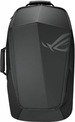 "Рюкзак для ноутбука 17"" ASUS ROG RANGER 2-IN-1 нейлон резина черный цена"