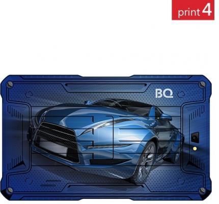 "Планшет BQ BQ-7082G Armor 7"" 8Gb синий рисунок Wi-Fi 3G Bluetooth Android Print04"