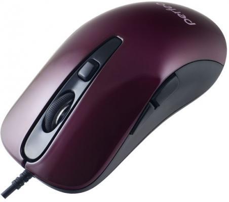 Мышь проводная Perfeo Hill PF-363-OP красный чёрный USB радиоприемник perfeo егерь fm красный i120 red