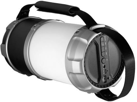 Портативная акустика Ginzzu GM-889B черный портативная колонка ginzzu gm 889b 20вт черный